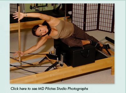 Welcome to MD Pilates Studio